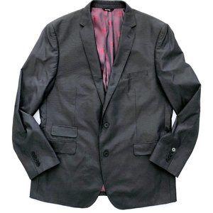 ROCK & REPUBLIC Men's Charcoal Blazer Jacket 44R